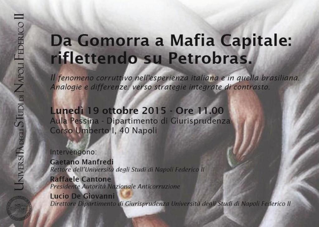 Da Gomorra a Mafia Capitale: riflettendo su Petrobras